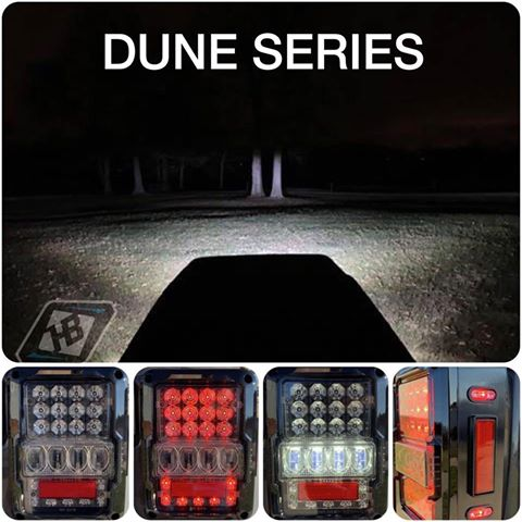 Dune Series Taillights - JK