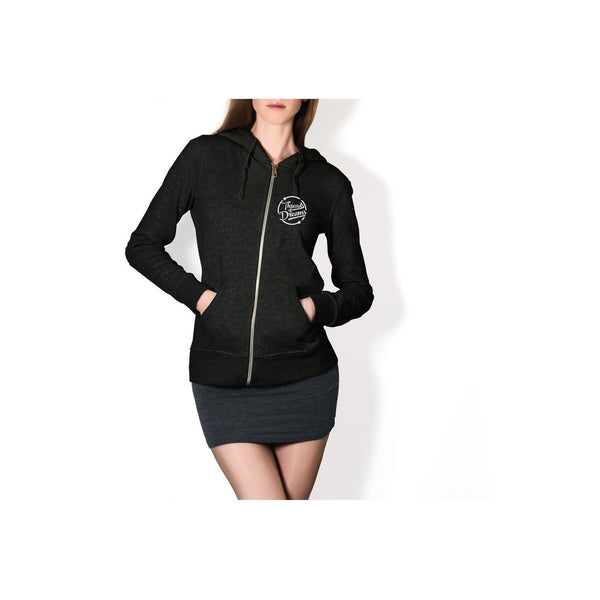 Exhale The Hate Womens Zip-Up