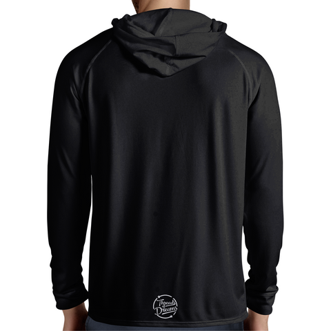 Vivid Vision Men's Hooded Tee