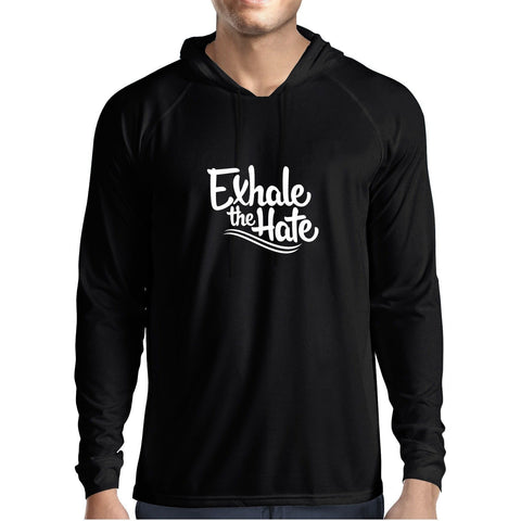 Exhale The Hate Mens Hoodie