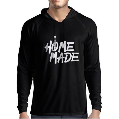 Home Made Mens Hooded Tee