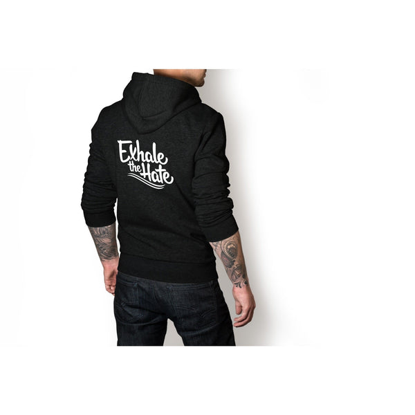 Exhale The Hate Mens Zip-Up