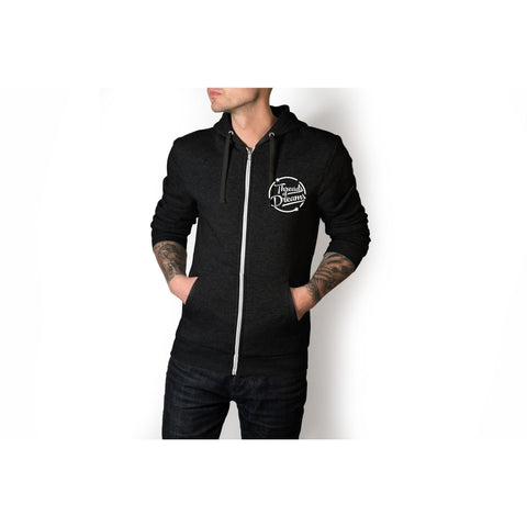 Vivid Vision Men's Zip Up