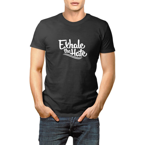 Exhale The Hate Mens T-Shirt