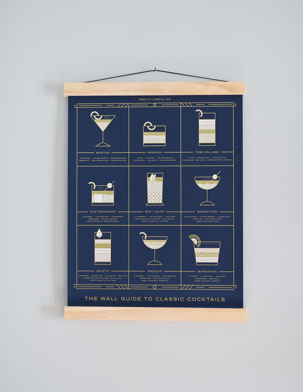 The Wall Guide to Cocktails