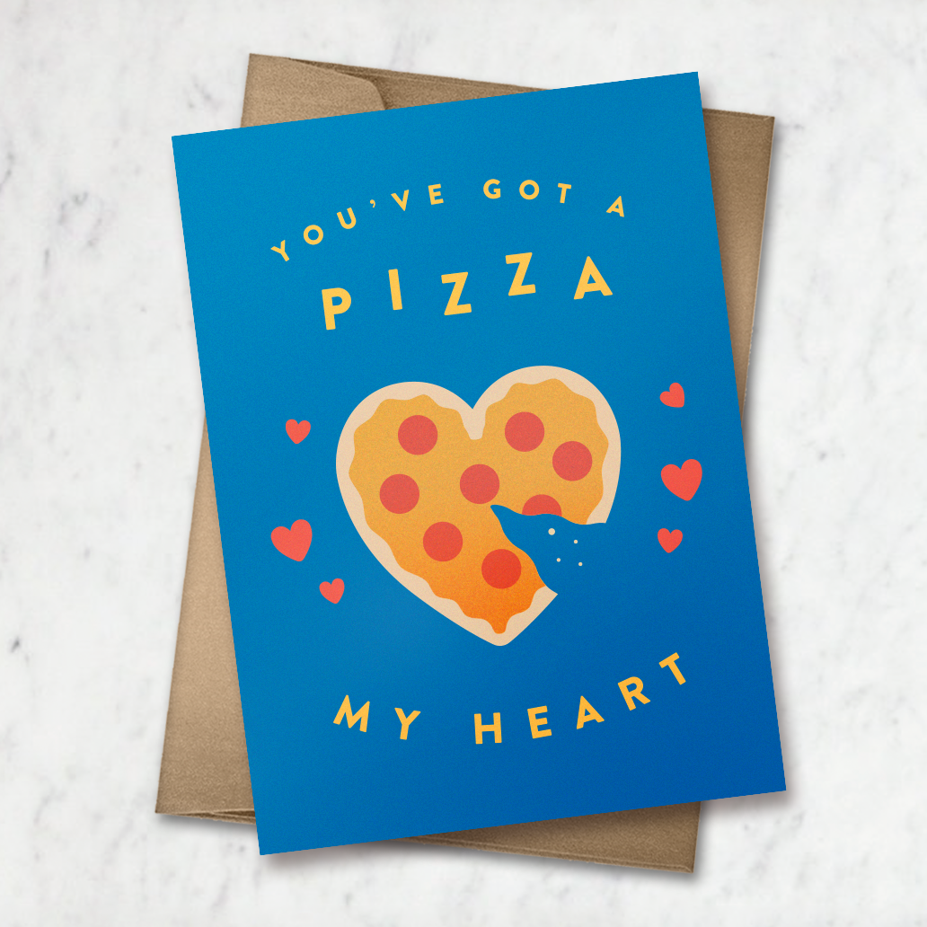 Pizza My Heart Card
