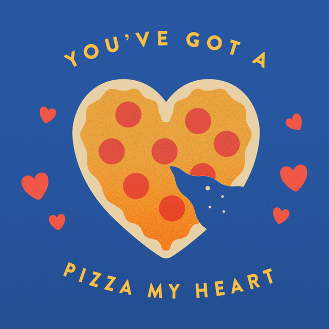 You Got A Pizza My Heart Printable Valentine