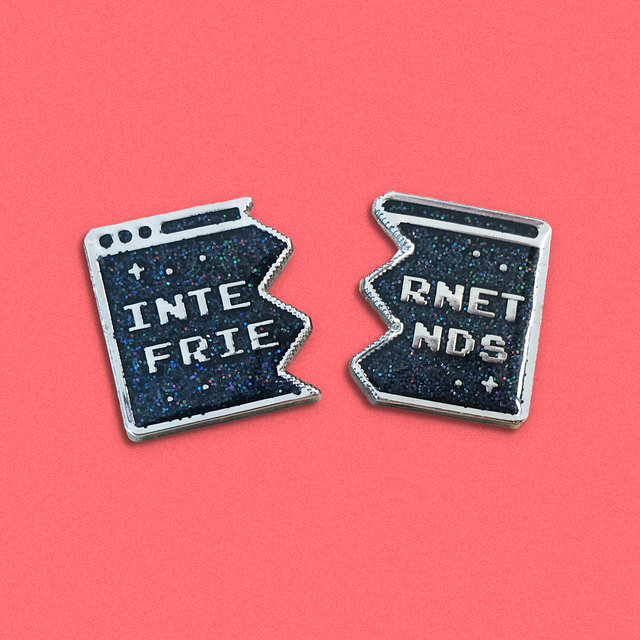 Pin Pals Pin Set: Internet Friends