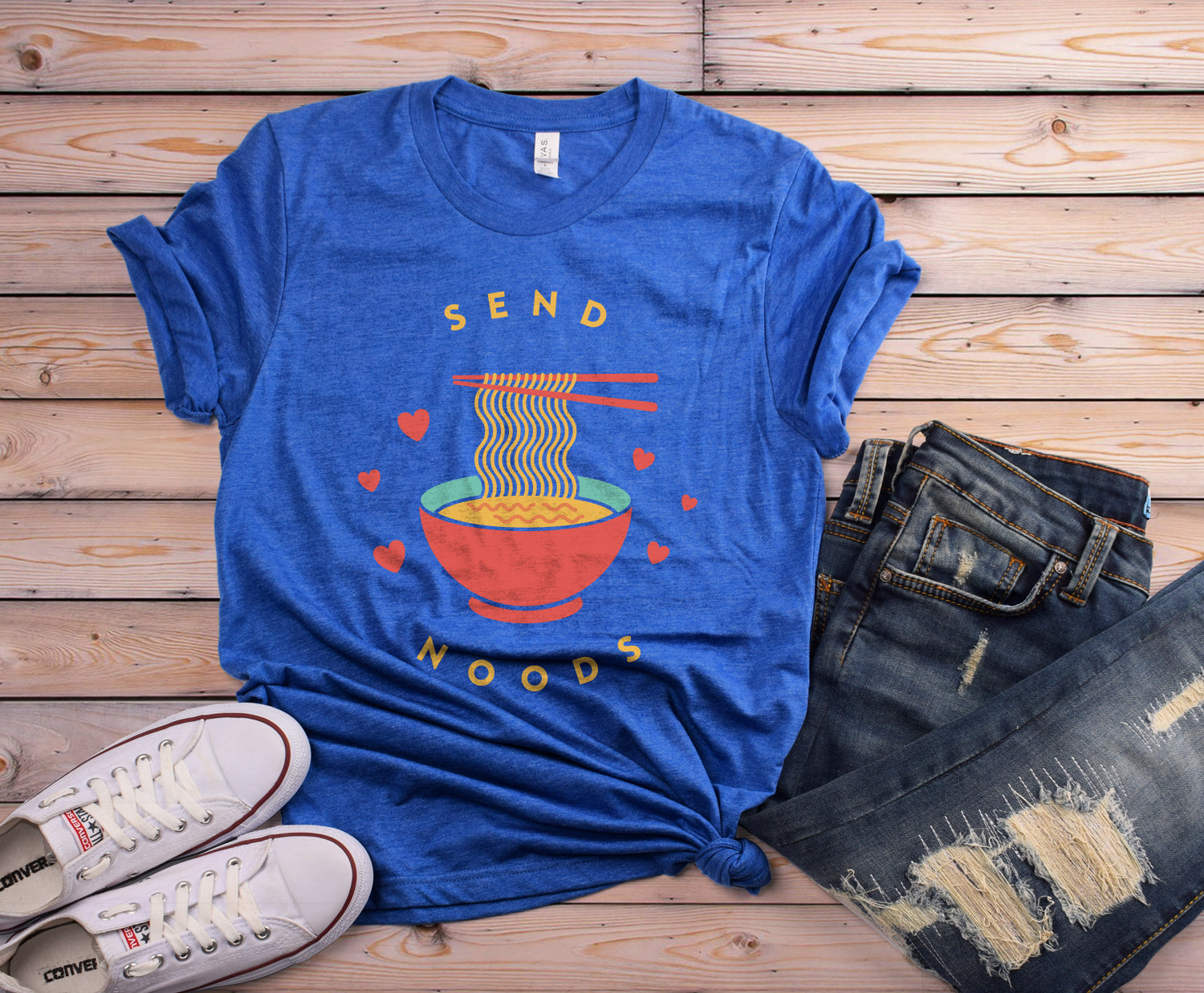 Send Noods Short-Sleeve Unisex T-Shirt