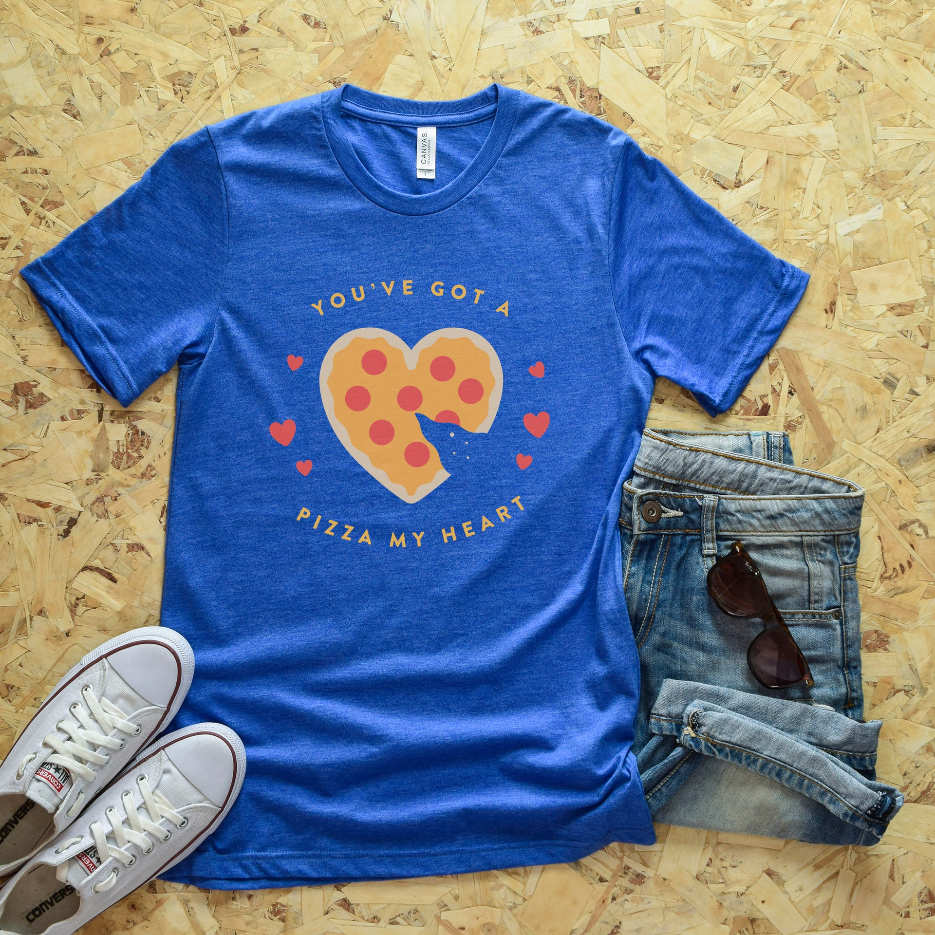 Pizza My Heart Short-Sleeve Unisex T-Shirt