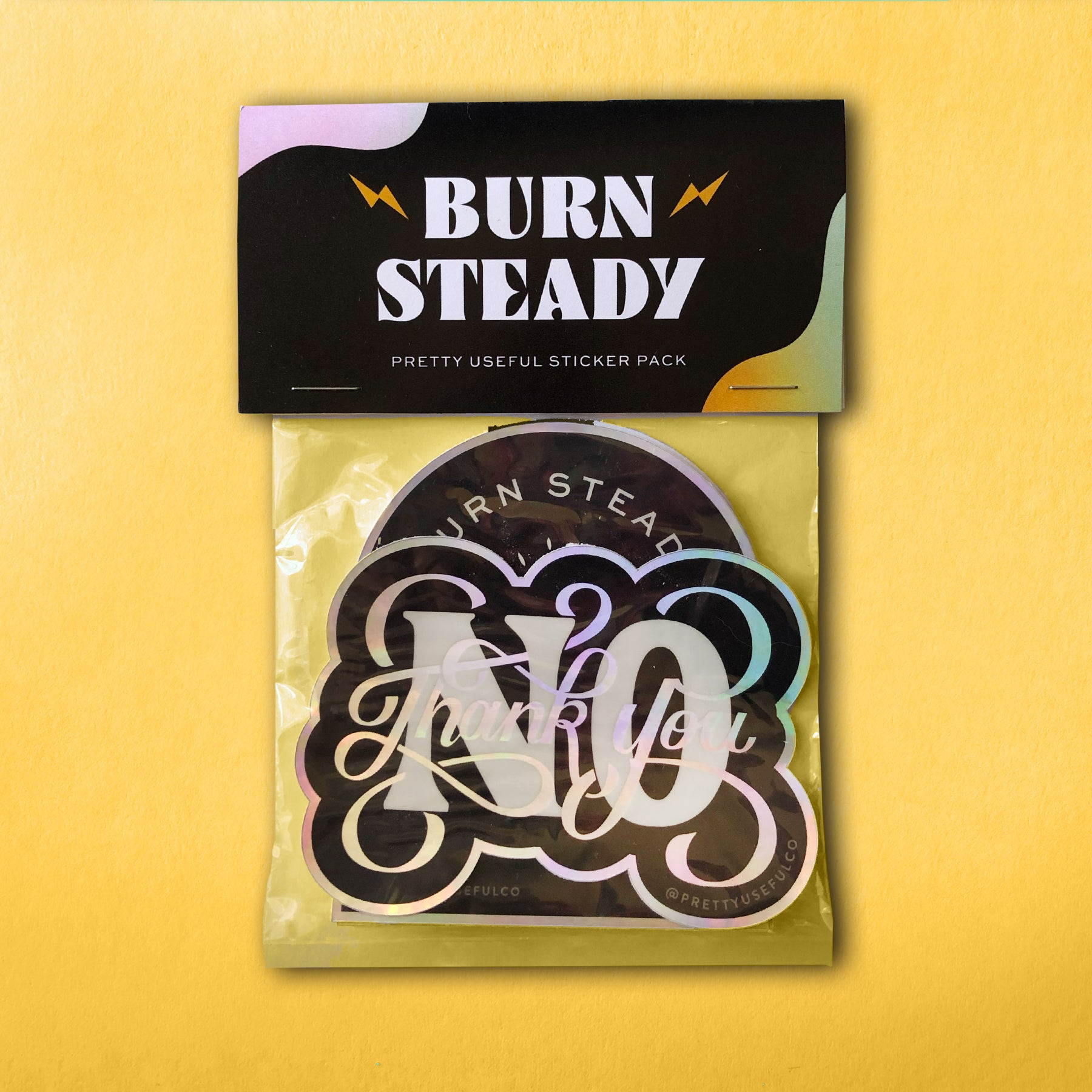 Burn Steady Sticker Pack