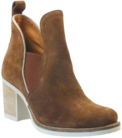 Ankle High Suede Boot