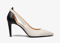 MK Cersei Leather Cutout Pump