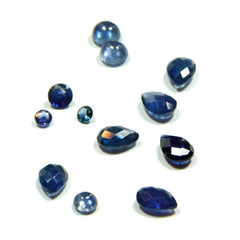 Sapphire Birthstone Charms and Pendants