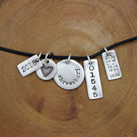 Silver Clay Jewelry Party Or Ladies Night Out Heart And Stone Jewelry