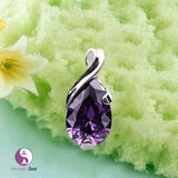 Natural Crystal Heal Point Chakra Stone Angle Amethyst Pendant - https://www.Intrinsiczest.com