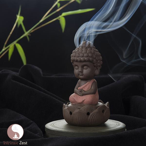 Intrinsic Zen Buddha Incense Burner - https://www.Intrinsiczest.com