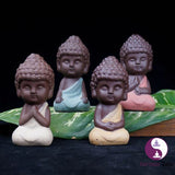 Intrinsic Zest Handpainted Ceramic Buddha - https://www.Intrinsiczest.com