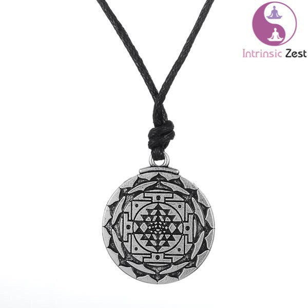 Intrinsic Zest Sri Yantra - Growth and Healing Amulet - https://www.Intrinsiczest.com