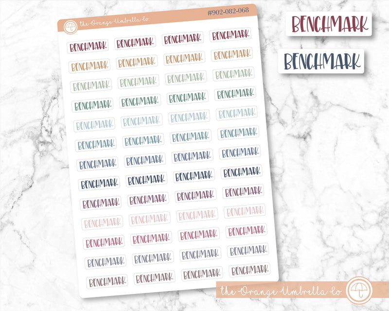 ScriptDiscussion Stickers for Planner Discussion Stickers Rainbow Colored Tracking Stickers #902-042-051L-WH