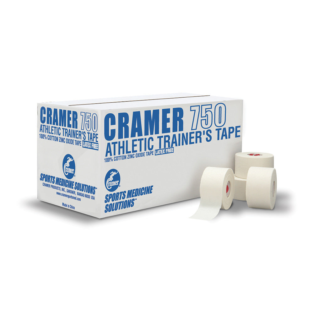 "CRAMER 750 ATHLETIC TAPE1 1/2"" 32/CASE"