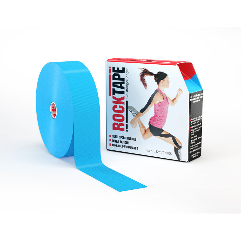 "ROCKTAPE 2"" X 105' ROLL BLUE"