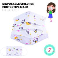 Disposable Children Protective Mask for ages 3-12, Variety of images to choose from , 7 per pack