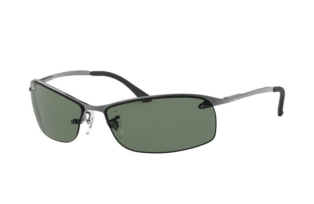 RAY-BAN RB3183 - TOP BAR SQUARE SUNGLASSES