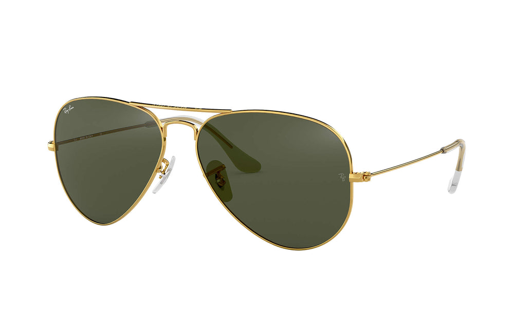 Ray-Ban 0RB3025 - Large Metal Aviator Sunglasses