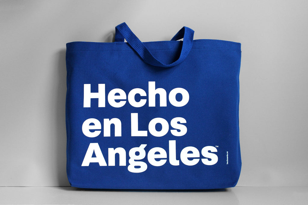 Hecho en Los Angeles Canvas Bag: Assorted Colors