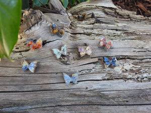 Butterfly. Fingerprint Orgonite® Personal Size. Assorted.