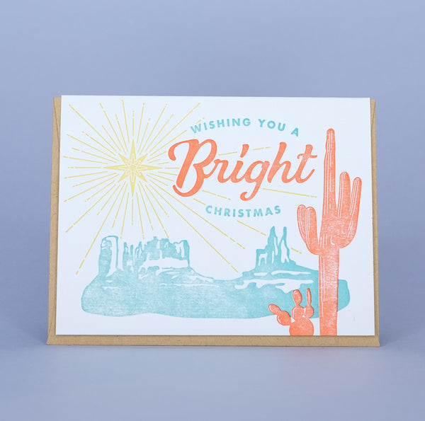 Bright Desert Christmas