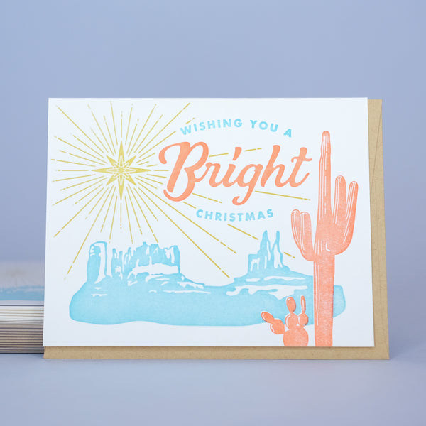 Bright Desert Christmas Box