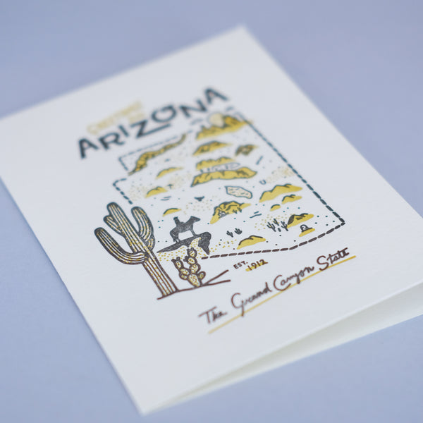 Arizona Map Box Set
