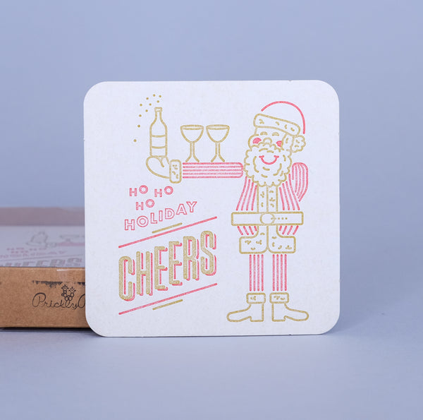 Holiday Cheers Coasters