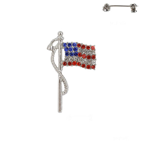Americana Flag Fashion Pin