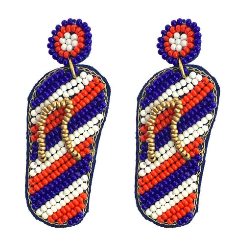 Americana Sandals Earrings
