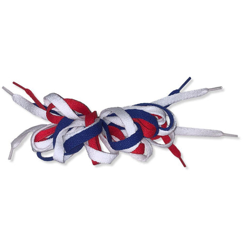 Americana Shoelace Hair Barrette