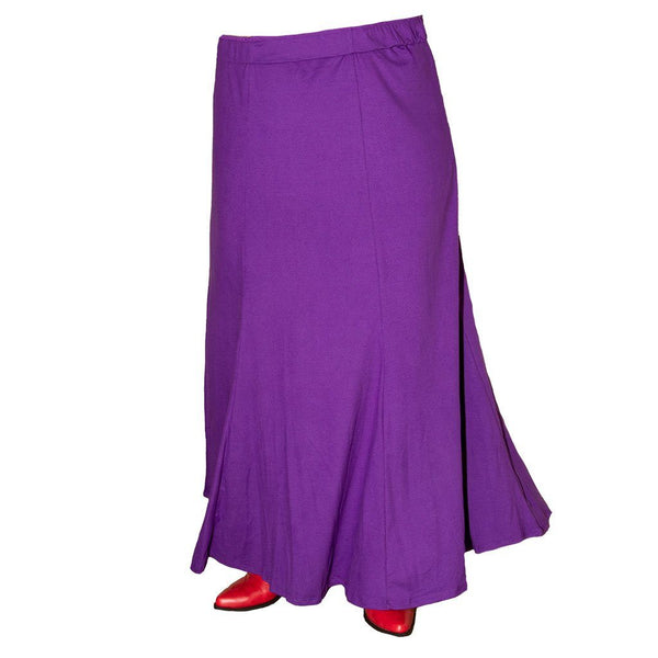 Angel Six Panel Long Skirt
