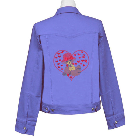 Bearoness Crystal Denim Jacket