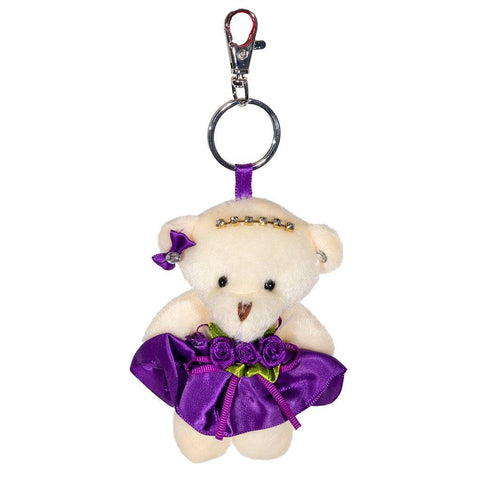 Beatrice Bear Key Ring