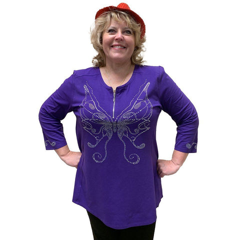 Beautiful Butterfly Tunic