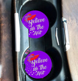 Believe in The Hat Car Coaster Auto Conde
