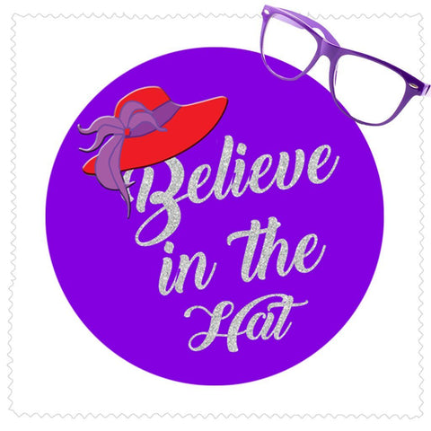 Believe In The Hat Microfiber Cleaning Cloth