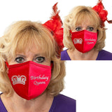 Birthday Queen Solid Color Face Mask Accessories Daniali R/R Set