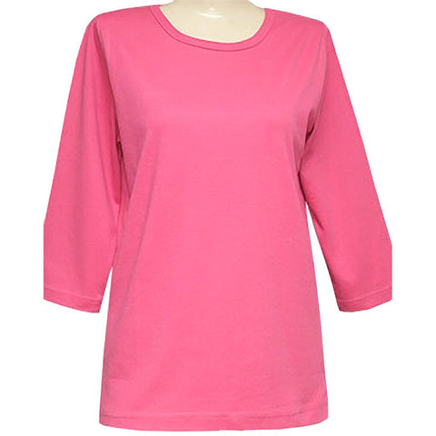 Blank 3/4 Scoop Pink or Lavender Classic Shirt