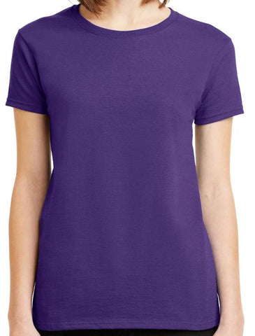 Blank Basic Purple or Red T-Shirt
