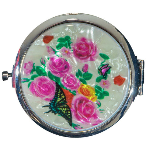 Butterfly Love Compact Mirror