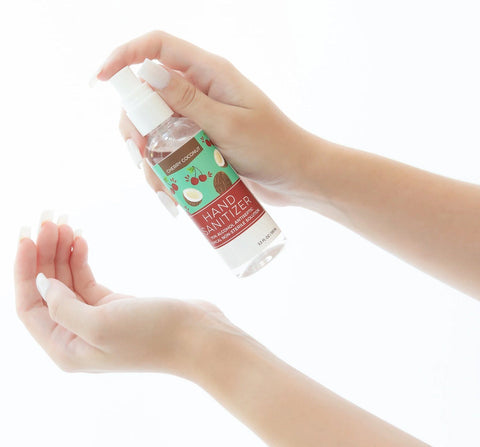 CHERRY COCONUT SCENTED HAND SANITIZER SPRAY
