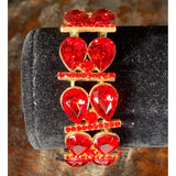 Demi Stretch Bracelet Jewelry REZO Culture Trading, INC. Red